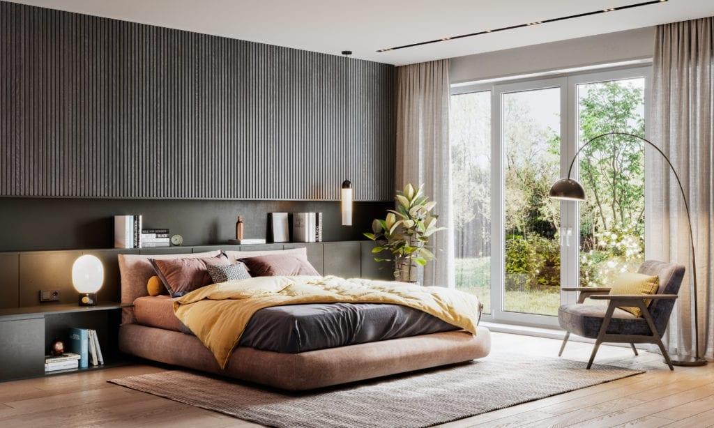 chambre à coucher décoration