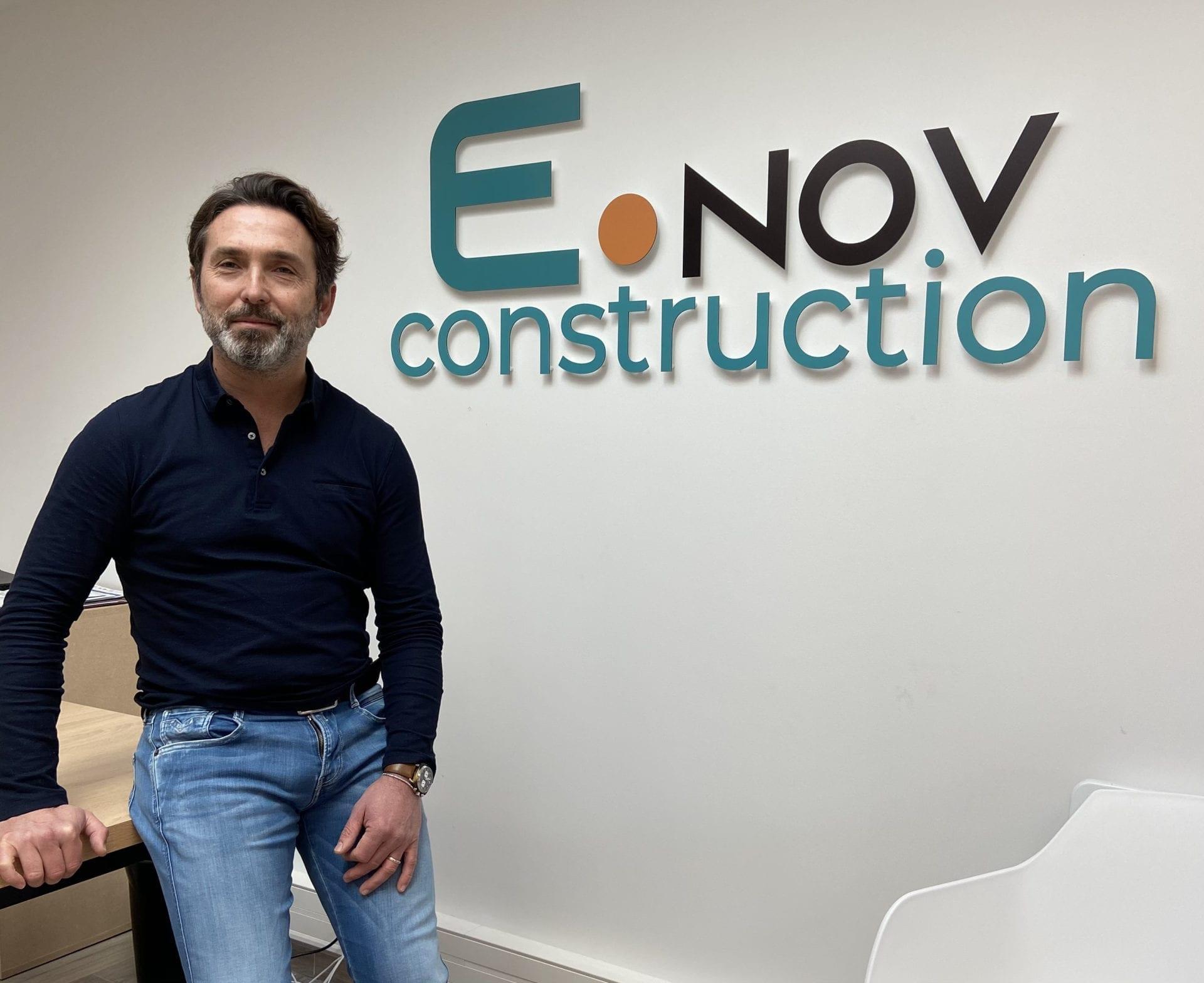 photo de bruno aubert - président de E.nov construction